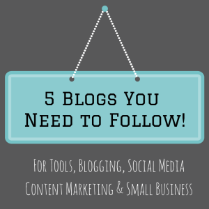 5 Blogs You Need to FollowP! (1)