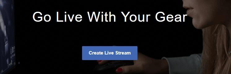 Create Facebook Live
