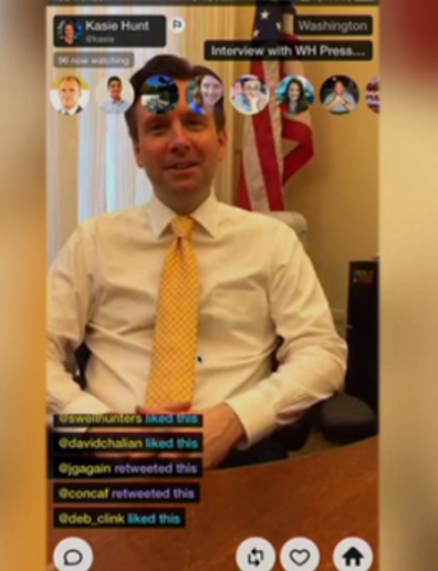 Social Media Recruiting Via Periscope
