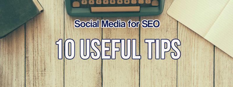 Social Media for SEO Tips