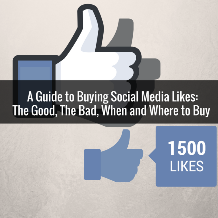 Where and When to Buy Social Media Likes