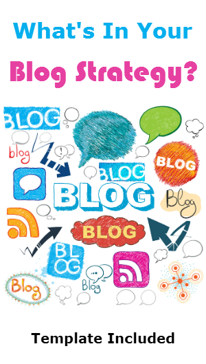 Blog Strategy Template - Blog content strategy template