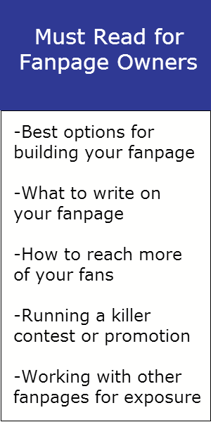 Must read information for all fanpage owners.