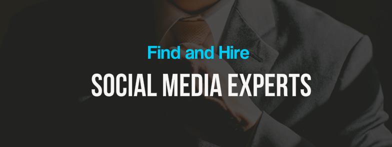 find social media experts