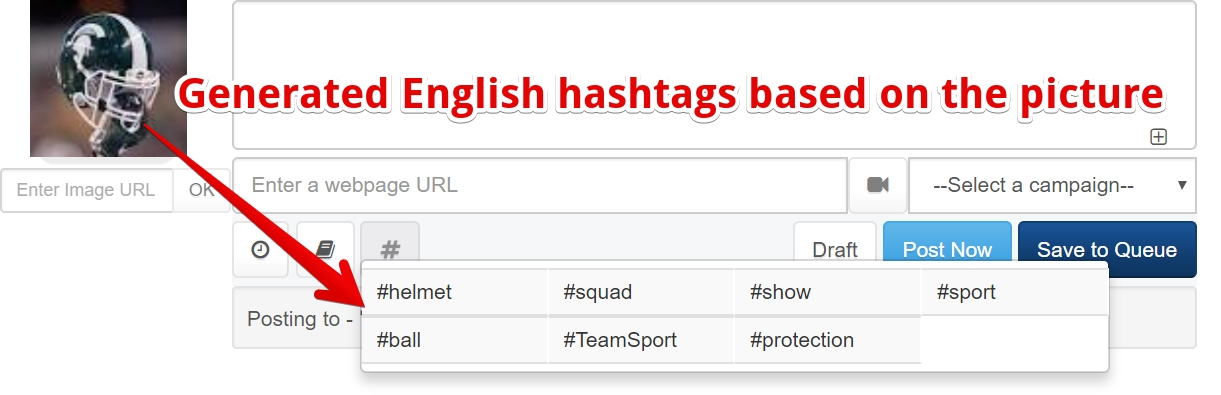 generate hashtags automatically