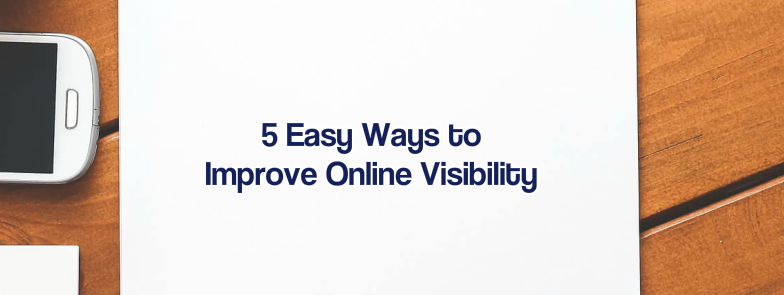 increase online visibility