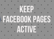 How I Keep Facebook Pages Active without Spending Time