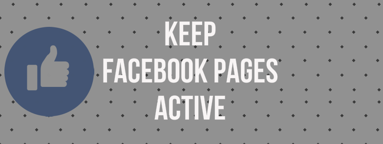 keep Facebook page active using autoposter