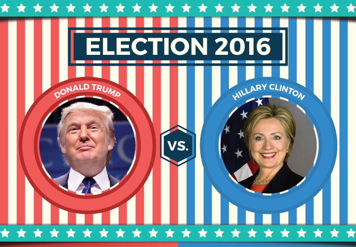 social media campaign election 2016