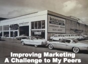 Improving Marketing- A Challenge To My Peers