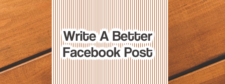 write better Facebook post
